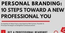 Personal Branding / This board shows ways to help you create your personal brand...one that will make YOU stand out to employers.