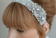 Hair accessories, flowers & rosettes / by Claire Pingel
