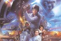 Star Wars / Best movies in the entire universe. Ever. Period. That is all. / by Emily H