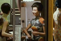 QIPAO MOVIE / Maggie Cheung in <<In the Mood for Love>> by means of theShanghai qipao demonstrates totally different feminine—gentle and elegant, glamorous and noble temperament. And with two dozen of magnificent print cheongsam dresses in this film, Maggie Cheung perfectly presents the charm of Shanghai women.