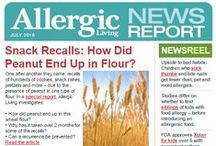 Allergic Living News Report / - NewsReel: Breaking food allergy, celiac and asthma news. - Latest research: AL interviews the top experts. - Allergy issues: in-depth articles from our journalists. - Outstanding recipes: gluten-free & allergy-safe. - Calendar: allergy/asthma/celiac dates to remember.