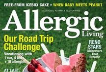 AL Magazine - Issues / The most recent issues of Allergic Living magazine.