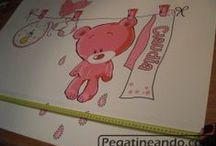 Pegatinas infantiles / Decora el cuarto de los niños con pegatinas de sus personajes favoritos.