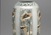 art nouveau—objets d'art / vases, statuettes, clocks, knick-knacks, perfume bottles, hood ornaments / by Dicentra spectabilis