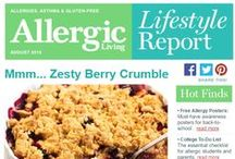 Allergic Living Lifestyle Report / We've launched a brand new Lifestyle e-Report, focused on great allergy-safe recipes and allergy/celiac advice. Click below to view. If not on our list, easy to sign up at top of our site for future e-letters. Will be continuing our popular monthly e-NEWSreport too. Enjoy!
