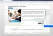 TriWorkflow / TriWorkflow Munkafolyamat menedzsment megoldás - TriWorkflow Workflow management solution. Munkafolyamat támogató rendszer megoldásunk olyan nagy- és közepes méretű vállalatoknak készült, ahol a termelő vagy egyéb tevékenységek jól meghatározható folyamatokra épülnek, és ezen folyamatok pontos, határidőre történő dokumentált elvégzése a vállalat működése szempontjából kritikus fontossággal bír.
