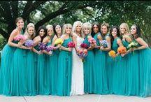 Vestidos Azul Tiffany para madrinhas