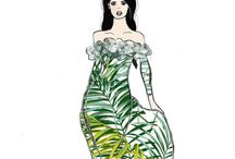 Elodie Hav Illustration / My Illustration work  