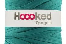 Projects: Zpagetti/ Ribbon XL / Zpagetti t-shirt jersey yarn and Ribbon XL from hoooked, be inspired!