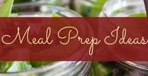 Meal Prep Ideas / Tips, new recipes and ideas for healthy meal prep!