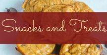 Snacks and Treats / Snacks and treats - most of them healthy recipes!