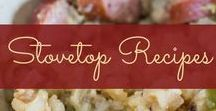 Stovetop Recipes / Recipes made on the stove - most of them healthy!