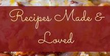 Recipes Made and Loved! / Recipes that I have made and loved! Tasty, healthy and great for meal prep!