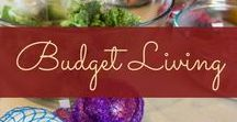 Budget Living / Tips, tricks and ideas for how to live a great life on a budget!