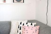 M I N I M A L / Decoração estilos: minimalista; escandinavo ou nórdico; boho; industrial.