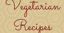 Vegetarian Recipes / Meatless recipes!