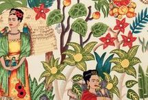 Frida / Fabrics inspired by Frida Kahlo and Mexican fun