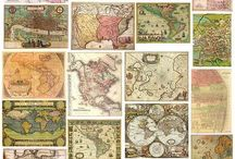 MAPS AND STAMPS