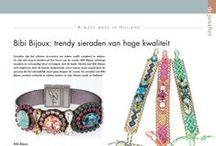 Bibi Bijoux in magazines