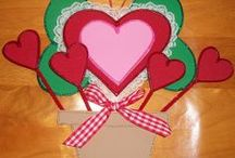 Valentine's Day / xoxo  Hugs N Kisses Great for gifts, hang on your windows, doors....it's endless where you can put these! They are durable and made to last for many years.