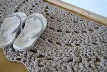 Crochet items  / For body and for home.