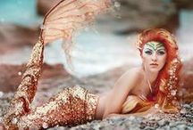 We love mermaids! / Mermaids, mermaids, mermaids!!! Check us out!! http://www.the2tails.com/