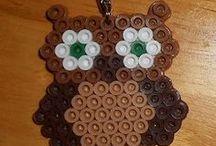 Perler Beads Owls