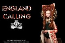 ENGLAND CALLING  WK 8 / hair  make-up & creative direction