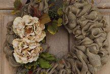 Wreaths with Renie....