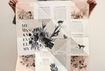 Print Inspiration / Inspiring styles and methods of printing