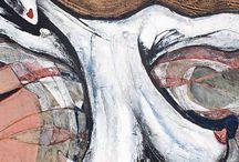 Women / Feeling of Woman, Digital art, inspiration, passion, feelings, new art, paint, colorful, real art, people, beauty, women,