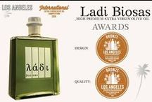 Ladi Biosas λάδι βιώσας│Awards & Honors│Επαινοι-Βραβείο Αριστείας και Καινοτομίας / Ladi Biosas has won multiple awards for both quality and design and is already favored by some of the most prestigious resorts and restaurants.