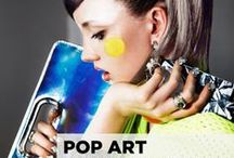 POP ART   WK 7 / Beauty Nail story for B. Mag Online