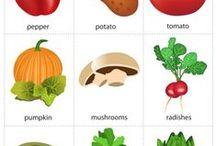zöldségek, termények