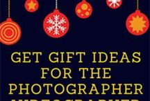Photo / Video Gifts / Finding the best gifts to give to photographers, videographers, and anyone with a camera.