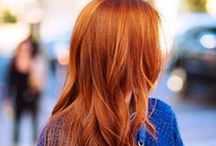 Hair color and style