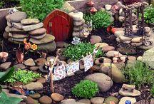 Trädgårdsväsen - älvor, troll och lite magi / Trädgårdens små invånare