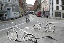 Landscape: Bike stand
