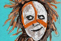 African masks / Mask 1 /digital art