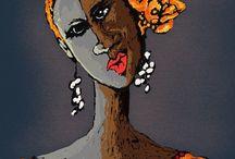 Mis Negras / Digital Art Proyects