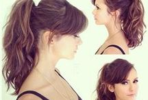 Hairstyles & Highlights / by Claudia Dastmalchi