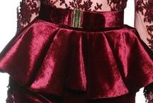 Fabrics : Velvet / Silk