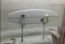At The Glass Shop / surfboards in production / by Harbour Surfboards