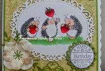 Penny Black cards by me.... / My biggest passion is PB stamps. Here are a few of my creations.