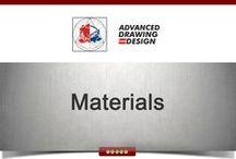 Materials / http://www.pinterest.com/dmneatu/