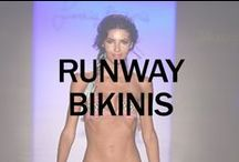 BIKINIS ON THE RUNWAY / Latest runway looks from 2014 Miami Fashion Week. / by BIKINI.COM