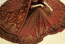 Bridal Lehengaaa.... Omg it's sooooo Beautiful / Lehenga is a form of skirt which is long, embroidered and pleated.