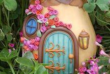 I Reallyy Like The Looks Of This Fairy Houses