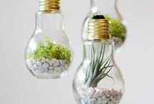 DIY Home Decor / It's about some projects that I liked. I am going to try many of them.