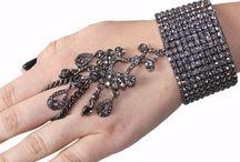 Swarovski crystal handchain